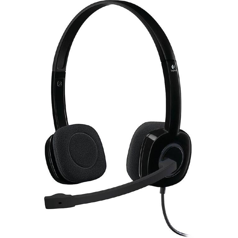 Logitech H151 Stereo Headset, , hi-res