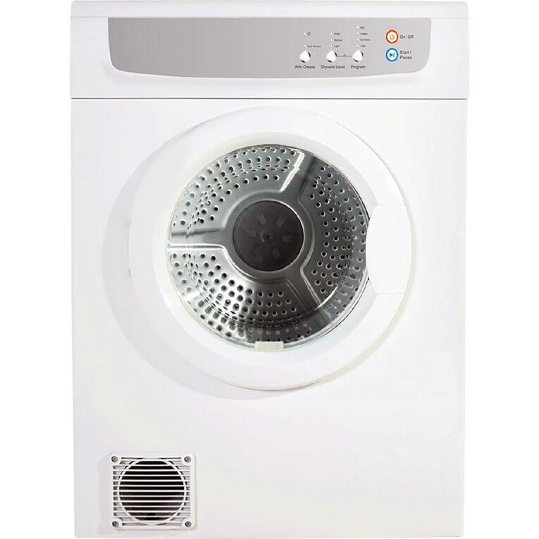 Eurotech 7kg Front Vented Dryer, , hi-res