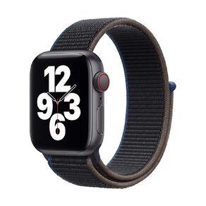 Apple Watch SE CEL, 40mm SG Alum Case w Charcoal Sport Loop
