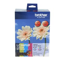 Brother LC39PVP Value Pack