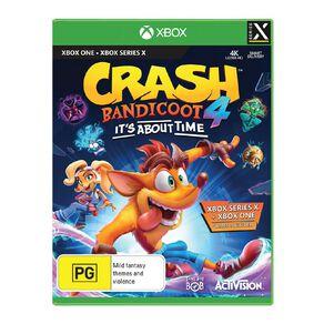 Activision Xbox Crash Bandicoot 4: It's About Time