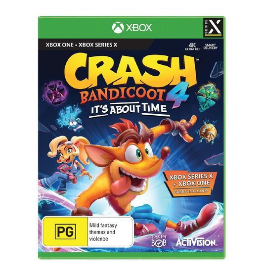 Activision Xbox One Crash Bandicoot 4: It's About Time
