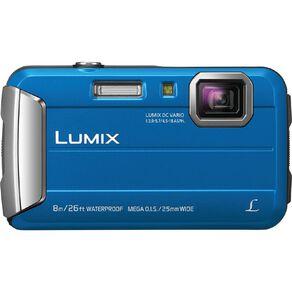 Panasonic Lumix FT30 Touch Camera - Blue