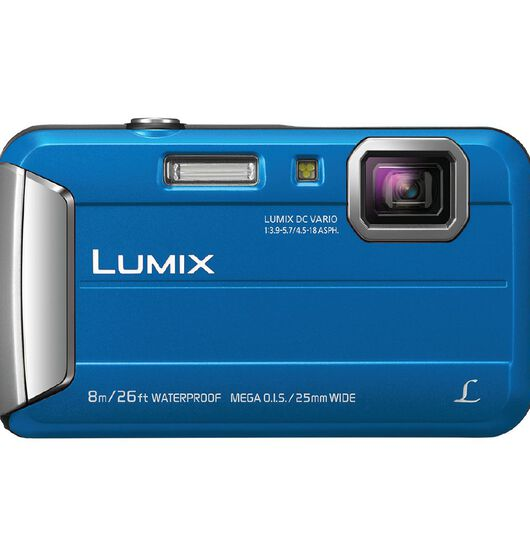 Panasonic DMC-FT30GN-A Blue Tough Camera