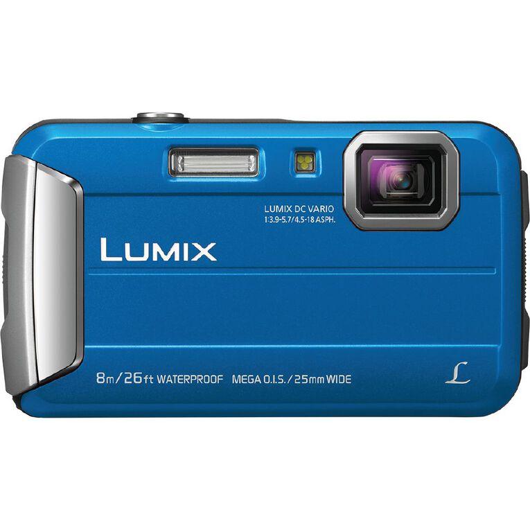 Panasonic Lumix FT30 Touch Camera - Blue, , hi-res