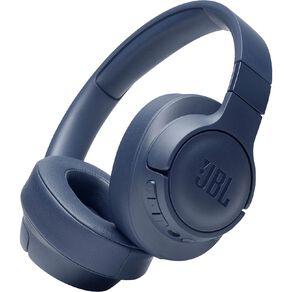 JBL T760 Wireless On-Ear Noise-Cancelling Headphones - Blue