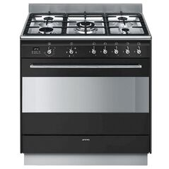 SMEG 90cm Gas/Electric Freestanding Oven
