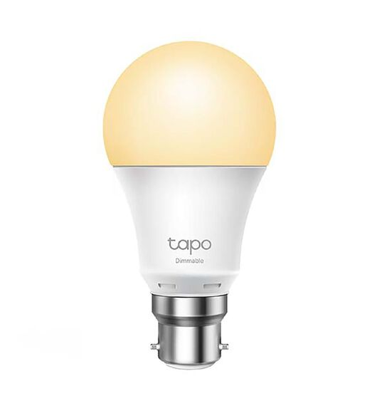 TP-Link Tapo Smart Wifi Light Bulb DImmable B22 Base