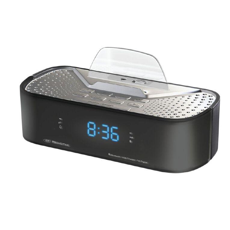 S-Digital Bluetooth Alarm Clock, , hi-res