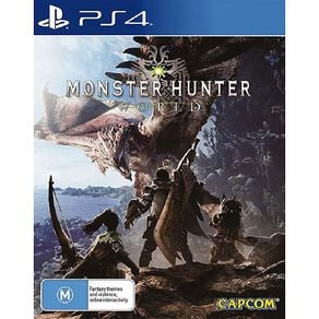 PlayStation 4 Monster Hunter World
