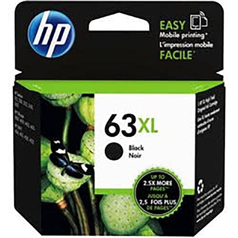 HP NO.63XL Ink - Black, , hi-res