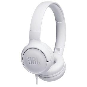 JBL Tune 500 On-Ear Headphones - White