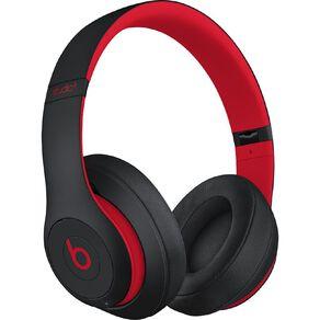 Beats Studio3 Wireless Over-Ear Headphones - Decade Collection - Defiant Black/Red