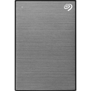 Seagate 1TB One Touch Portable with Rescue - Space Grey