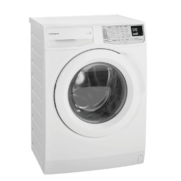 Westinghouse 7kg Front Load Washing Machine, , hi-res