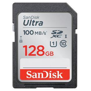 Sandisk Ultra SDHC/SDXC SD Card - 128GB