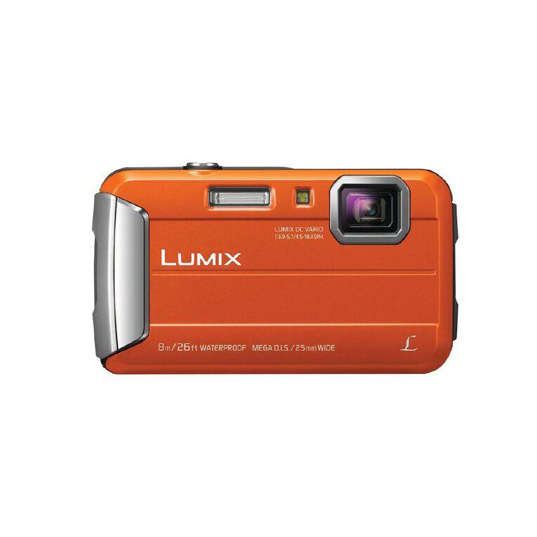 Panasonic Lumix FT30 Touch Camera - Orange, , hi-res