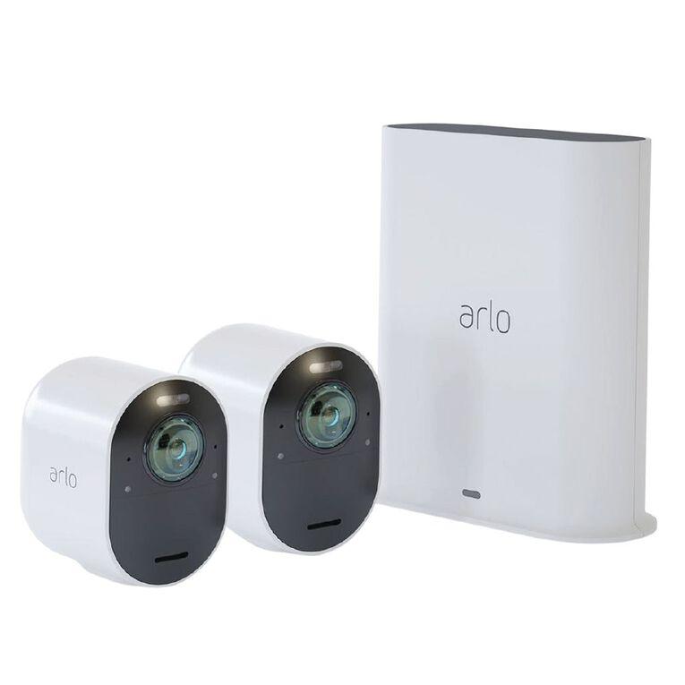Arlo Ultra 2 Spotlight 4K UHD Camera 2Pk, , hi-res