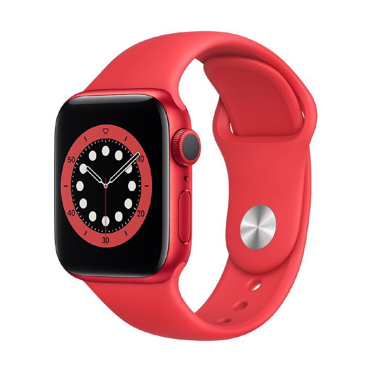 Image of Apple Watch Series 6 40mm GPS PRODUCT(RED) Aluminium Case with RED Sport Band