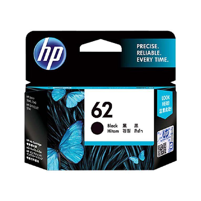 HP NO.62 Ink - Black, , hi-res