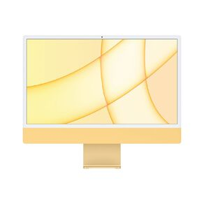 Apple iMac (4.5K Retina, 24-inch, 2021) 512GB, 8-Core GPU - Yellow