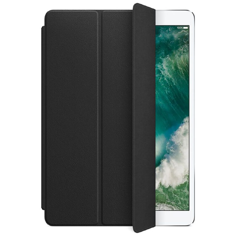 """Apple Leather Smart Cover for 10.5"""" iPad Pro - Black, , hi-res"""