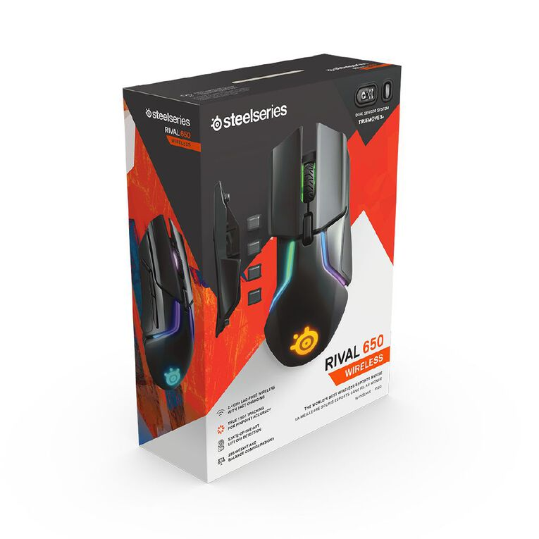 Steelseries Rival 650 Wireless Gaming Mouse, , hi-res
