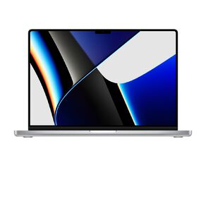 Apple 16inch MacBook Pro Apple M1 Pro chip 10C CPU, 16C GPU, 512GB SSD - Silver