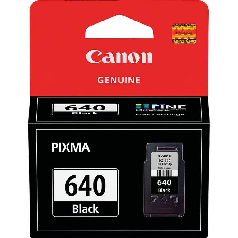 Canon PG640 Ink - Black, , hi-res