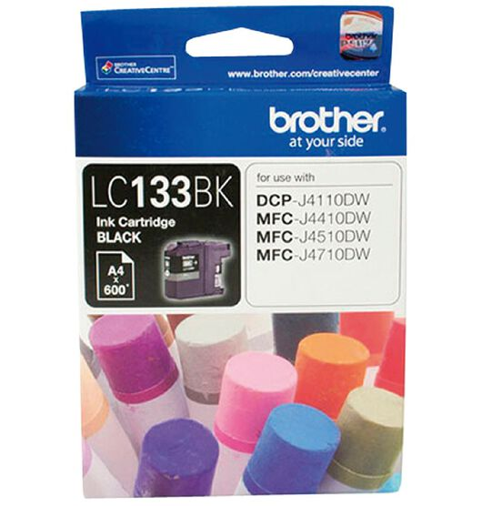 Brother LC133 Ink - Black
