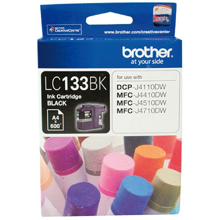 Brother LC133 Ink - Black, , hi-res