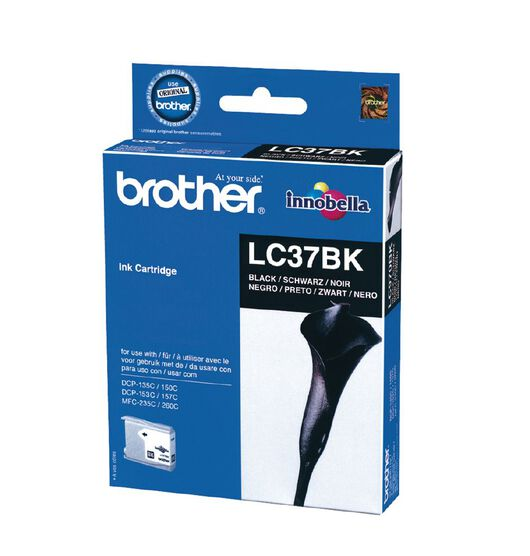 Brother LC37BK black ink cartridge