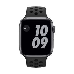 Apple Watch SE Nike 44mm GPS Silver Aluminium Case with Pure Platinum/Black Nike Sport Band