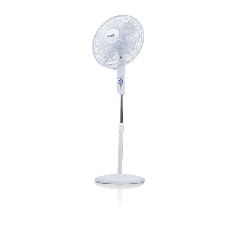 Goldair 40cm DC Pedestal Fan With Wi-Fi, , hi-res