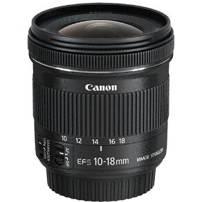 Canon EF-S 10-18mm F/4.5-5.6 IS STM Ultra-Wide Angle Zoom Lens