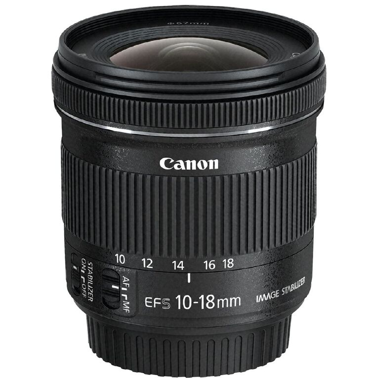 Canon EF-S 10-18mm F/4.5-5.6 IS STM Ultra-Wide Angle Zoom Lens, , hi-res