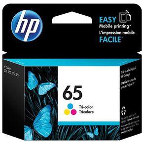 HP 65 Ink Tri-colour
