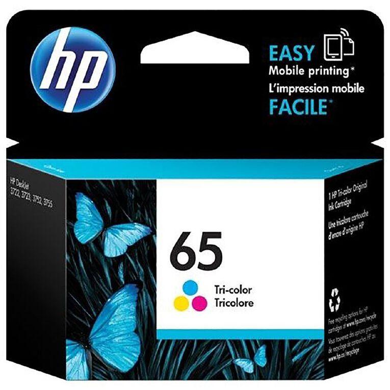 HP 65 Ink Tri-colour, , hi-res