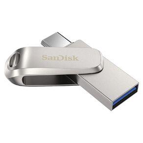 Sandisk Ultra Luxe Dual USB3.1/Type C Flash Drive Metal - 32GB - 150MB/s