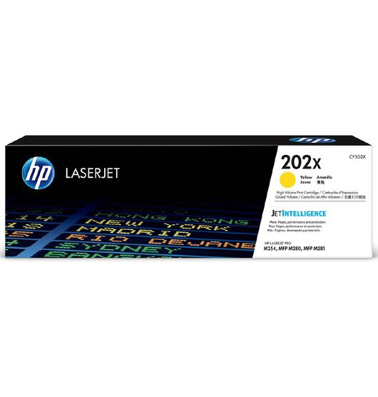 HP 202X Toner - Yellow