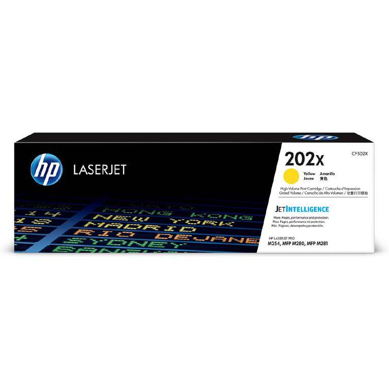 HP 202X Toner - Yellow, , hi-res