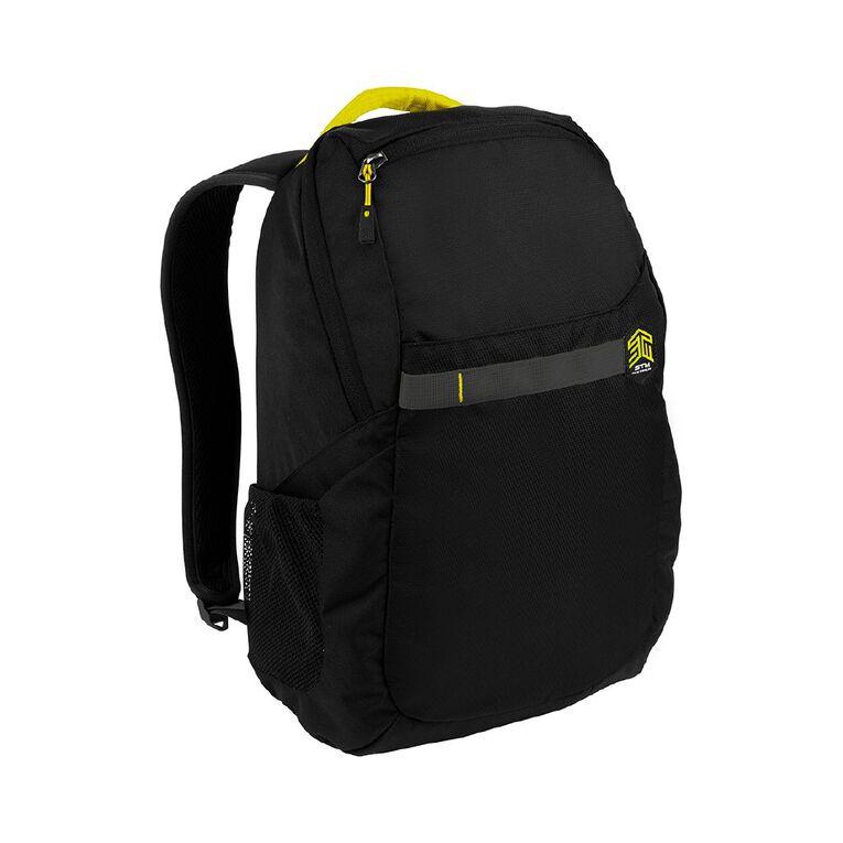 """STM Saga 15"""" Laptop Backpack - Black, , hi-res"""