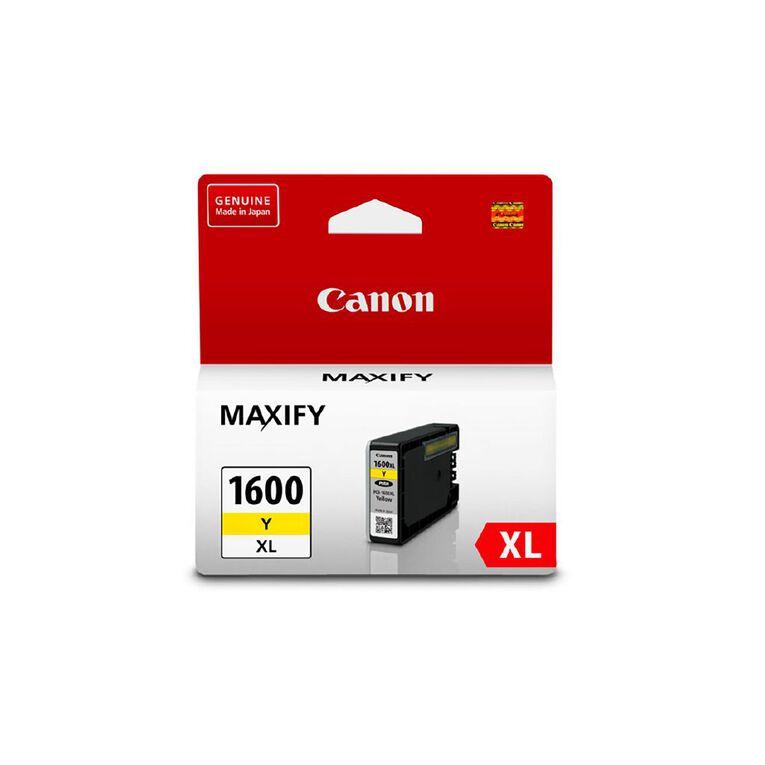 Canon PGI1600XL Ink - Yellow, , hi-res