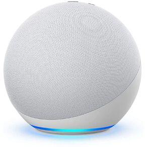 Amazon Echo 4th Gen with Premium Sound, Smart Home Hub & Alexa Glacier White