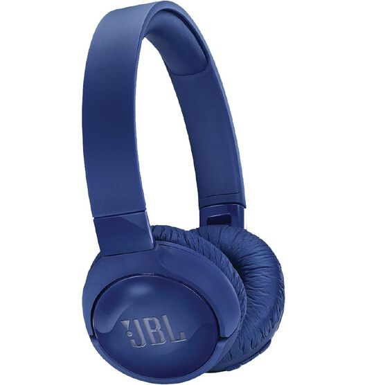 JBL Tune 600 Wireless Noise Cancelling On Ear Headphones - Blue