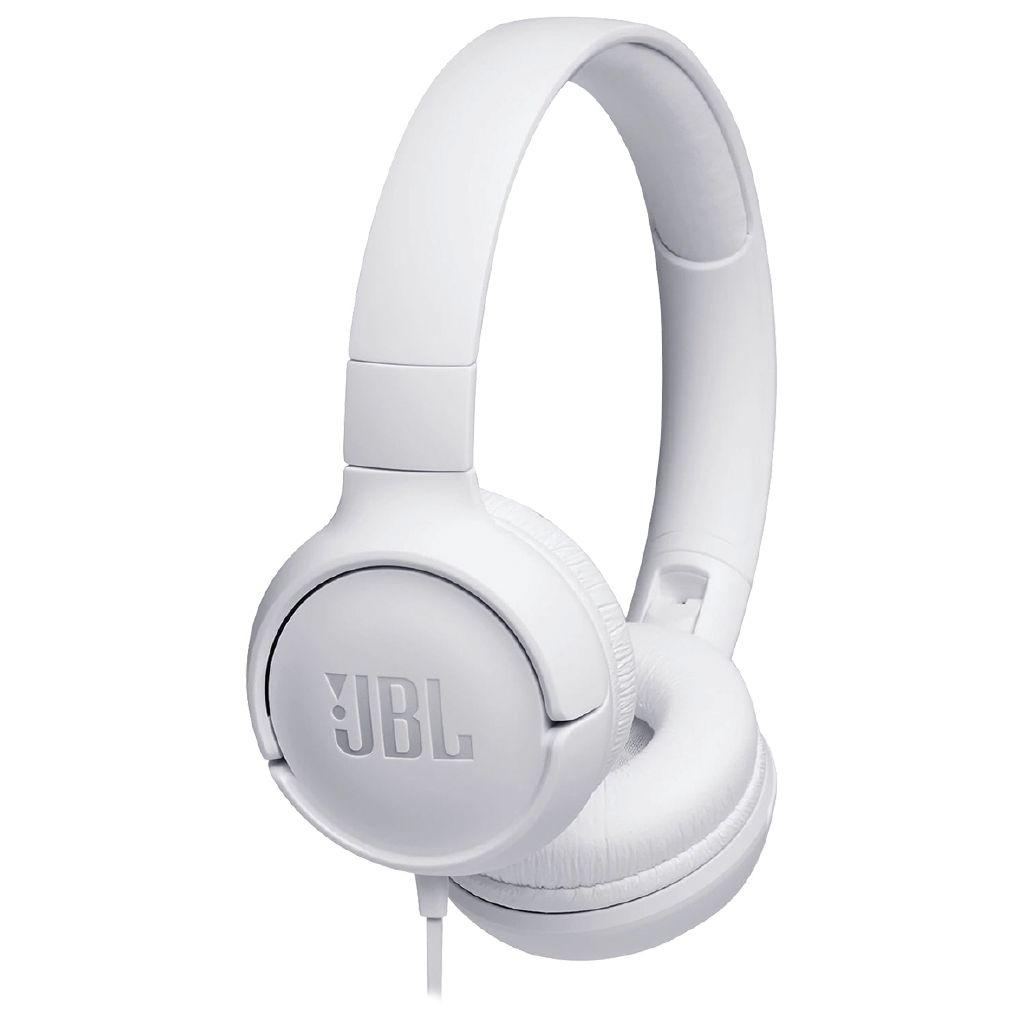 468e838154d JBL Tune 500 On-Ear Headphones - White - Noel Leeming